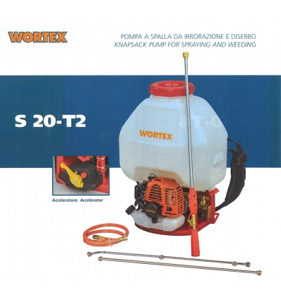 WORTEX POMPA A SPALLA