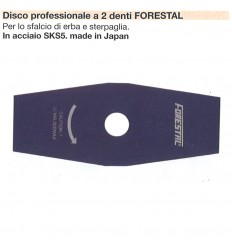 DISCO PROFESSIONALE 2 DENTI FORESTAL