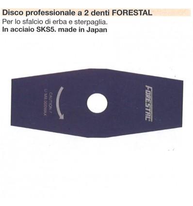 DISCO PROFESSIONALE 2 DENTI FORESTAL