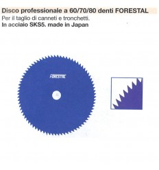 DISCO PROFESSIONALE 60/70/80 DENTI FORESTAL