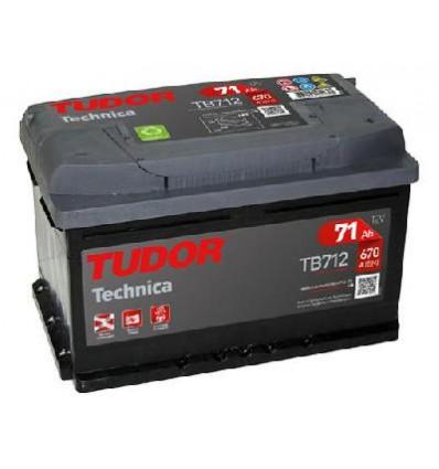 Batteria Tudor TB 712 TECHNICA