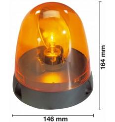 LAMPADA ROTANTE 12 V BASE PIANA
