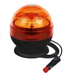 LAMPEGGIANTE A LED BASE MAGNETICA 12-24V 12 LED A 3W