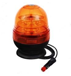 LAMPEGGIANTE A LED BASE MAGNETICA 12-24V 16 LED A 3W