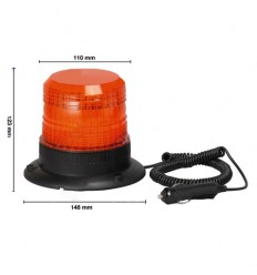 GIROFARO A LED A BASE MAGNETICA 12-80 V