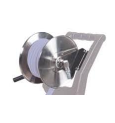 Avvolgitubo manuale acciaio inox