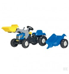 New Holland TVT 190 con caricatore frontale