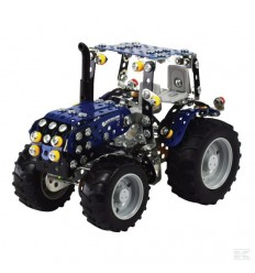 New Holland T4 con rimorchio